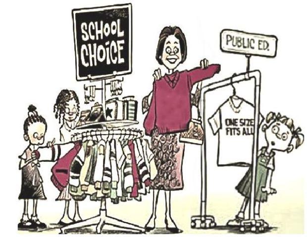schoolchoicerack